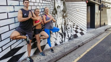 The fit face of King's Cross: the team from P.E. Dept.