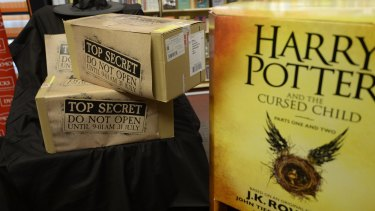 The new Harry Potter book, <em>Harry Potter and the Cursed Child</em>, was released at Dymocks in Sydney.