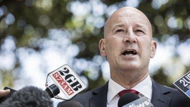 NSW opposition leader John Robertson.