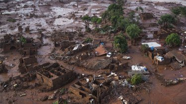 The disaster at the Samarco iron ore mine destroyed towns downstream, as well as fish stocks in the Doce River.