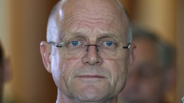 Liberal Democrat senator David Leyonhjelm gave permission for metadata from his business address to be captured and analysed.