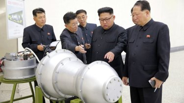 North Korean leader Kim Jong-un: Pyongyang is stepping up its nuclear weapons tests and threats.