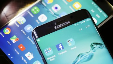 Virtually all Android devices, like these made by Samsung, are vulnerable to some form of Stagefright exploit.