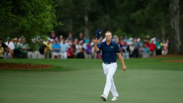 Jordan Spieth became the only player ever to get to 19 under at Augusta. He eventually finished on 18 under.