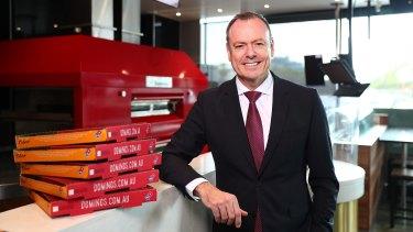 Domino's Australia CEO Don Meij.