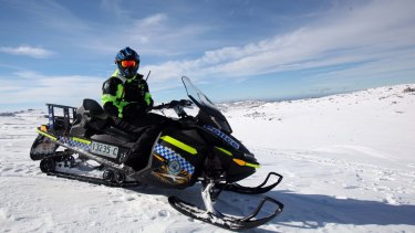 Police are patrolling the Snowy Mountains region as part of Snowsafe.