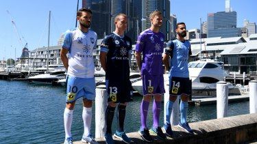 Star power: The Star's front of shirt sponsorship deal with Sydney FC is reportedly worth nearly $900,000 per season.
