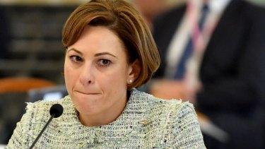Deputy Premier Jackie Trad has slammed Infrastructure Australia's Cross River Rail assessment.