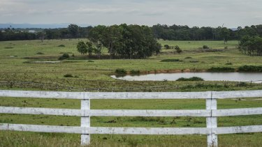 Land at West Appin to Sydney's south-west, ear-marked for future housing development.