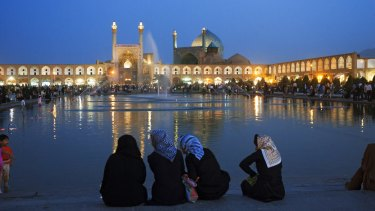 The World Heritage-listed Meidan Emam (or Imam Square) in Isfahan.
