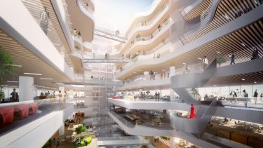 Walker Corporation has been appointed to develop three buildings for the Parramatta Square project.