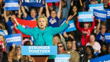 Investors got a taste of a potential Hillary rally.
