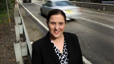 Fears for her safety: Melanie Gibbons, Liberal MP for Holsworthy.