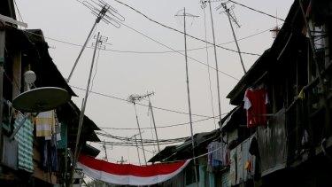 The Jakarta government has plans to demolish the flood prone area of Bukit Duri.