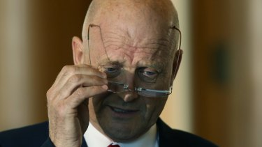 """I have some sympathies for where the government wants to go, plus some reservations,"" David Leyonhjelm told The Australian Financial Review."