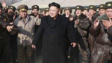North Korean leader Kim Jong-un inspects the KPA Air and Anti-Air Force Unit 991.