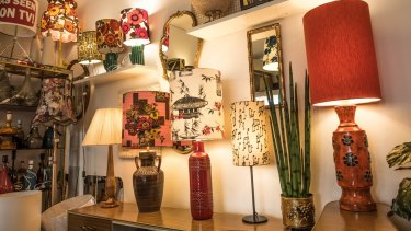 The Lampist specialises in upcycling, repairing and revamping vintage lamps.