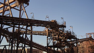 BHP's Olympic Dam produces copper and uranium.