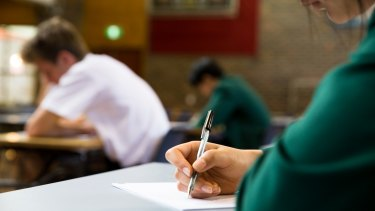There has been a second serious HSC security breach at a Sydney high school.