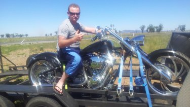 Jesse Leonard Menzies, 31, was charged with a string of firearm offences in April after he allegedly broke into rural homes and stole guns with a plan to sell them to bikies.