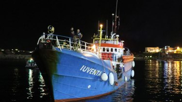 The German NGO migrant rescue boat has been put under preventive seizure as Italian authorities investigate what they suspected could be aiding people smuggling.