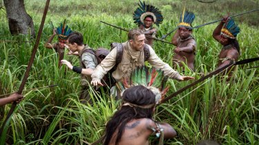 """'The Lost City of Z' tells of a real-life quest to discover a """"lost"""" civilisation in the Amazon Basin."""