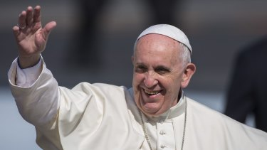 """Pope Francis: """"has been slow to hold to account bishops involved in cover-ups""""."""