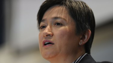 Opposition foreign affairs spokeswoman Penny Wong.