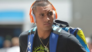 """""""Anything is possible"""" for Nick Kyrgios."""