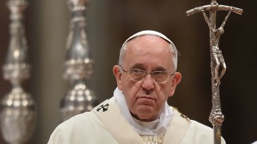 Pope Francis might have been celebrating, not only smacking in particular, but also justice in general.