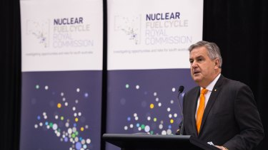 Kevin Scarce headed the Royal Commission into the Nuclear Fuel Cycle