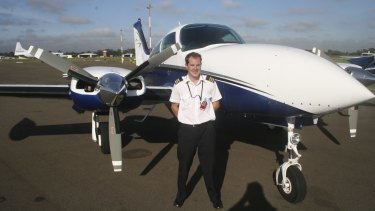 Andrew Wilson died when his patient transfer aircraft crashed in Canley Vale in 2010.