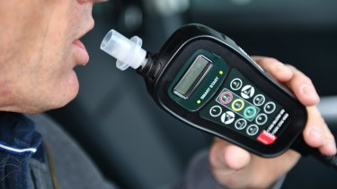Motorists with an interlock device installed in their car must blow zero before they can drive.