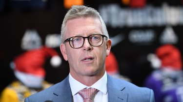 AFL football operations boss Steve Hocking brings an understated presence to the AFL.