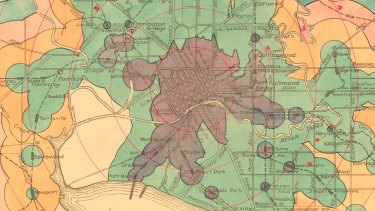 All aboard! Find how whether your train journey has changed on these maps from 1925.
