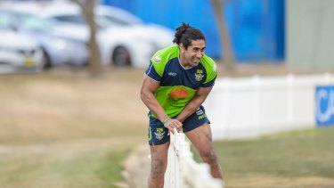 Sia Soliola sits on the fence over his future.