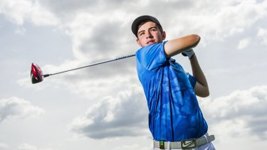 Ryan Ruffels is one of Australia's most talented junior golfers.