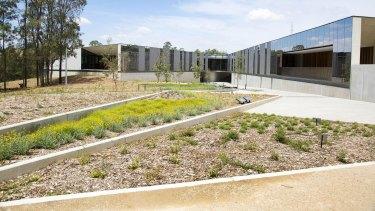 The Australian PlantBank at the Mount Annan botanic garden.