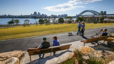 Sydney's newest vantage point for the New Year's Eve fireworks.