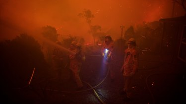 Experts say bushfires will become more common if climate change continues unabated.