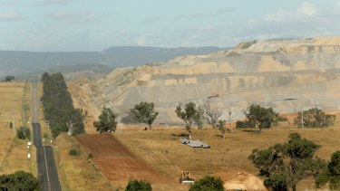 The Mount Arthur Mine at Muswellbrook: the public is becoming increasingly sceptical about the impact of  coal mining.