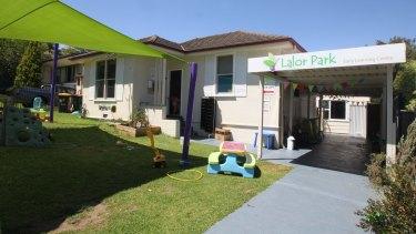 An early learning centre in Lalor Park, near Blacktown in Sydney's western suburbs.