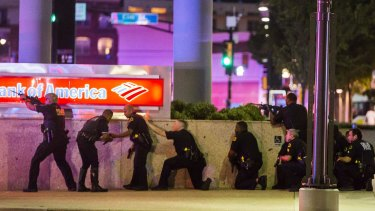 The shooting of Alton Sterling in Louisiana and Philando Castile in Minnesota sparked 'Black Lives Matter' rallies across the US, with the Dallas event ending in in the sniper deaths of five police officers on July 7.