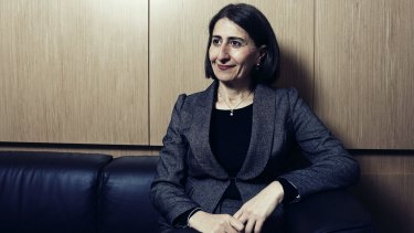 NSW Treasurer Gladys Berejiklian says the state is well-placed to capitalise on the shift away from mining.