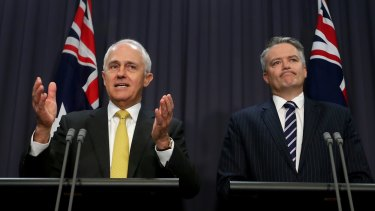Malcolm Turnbull and Mathias Cormann have promised a wide-ranging ban on foreign influence in Australian elections.
