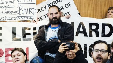 The first meeting of the new Inner West Council was cancelled as protesters seized control.