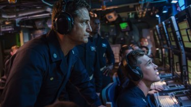 Butler plays Joe Glass, who leads a crew to investigate the disappearance of an American submarine near Russian waters.