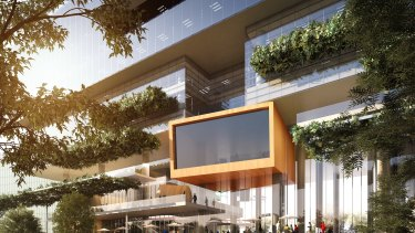 Twin commercial towers will be at the heart of the Parramatta Square redevelopment.