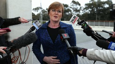 Liberal Linda Reynolds chairs the committee due to hand down a report on foreign political donations on Friday.