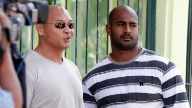 Holding out hope: Australian death-row prisoners Andrew Chan, left, and Myuran Sukumaran still hope for mercy from Indonesia.